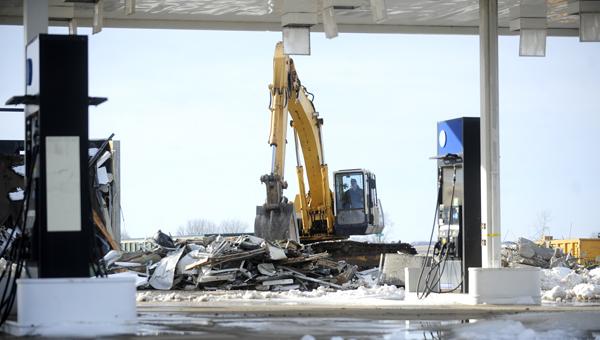 Mobil gas station demolished - Albert Lea Tribune | Albert ...