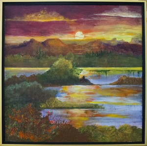 Shown is one of Barb Butler's paintings. She will have more than 80 paintings featured at the Celebrating the Arts & Artists event.