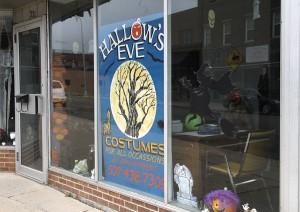 Hallow's Eve costume shop opened Oct. 1 on South Washington Avenue.
