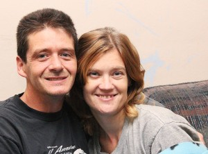 Josephine Boerner and her husband, Tony, have been married for two years. Tony is Josephine's primary caregiver as she is unable to do most things on her own.