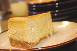 Pumpkin cheesecake. --Jens Levisen