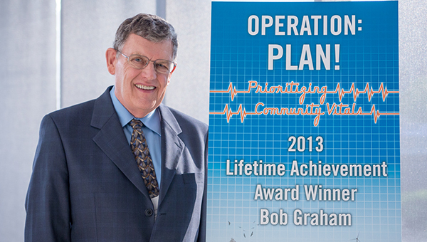 Bob Graham received the 2013 Lifetime Achievement Award. --Submitted