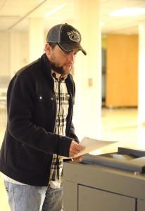 Votes were cast at Albert Lea's United Methodist Church on Tuesday. -- Brandi Hagen/Albert Lea Tribune