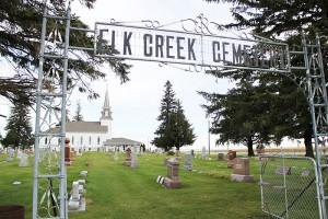 Mildred Clemenson was buried in Elk Creek Lutheran Cemetery.