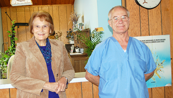 Janet and Steven Poeschl have retired after 41 years of serving the Alden community with his dental practice. --Shelly Zeller/Alden Advance