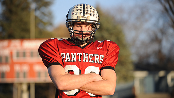 Dillon Partpart of New Richland-Hartland-Ellendale-Geneva is the Tribune's Player of the Year for football. He rushed for 1,495 yards and 15 touchdowns this season. — Micah Bader/Albert Lea Tribune