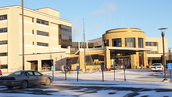 Mayo Clinic Health System in Albert Lea is at 404 W. Fountain St. Hospital staff have announced they will be laying off 26 transcriptionists at the local clinic. --Sarah Stultz/Albert Lea Tribune
