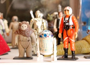 Star Wars figurines are some of the ones that The Chapel Comics & Collectibles Shoppe offers to its customers. The shop has figures from the '70s and '80s. -- Brandi Hagen/Albert Lea Tribune