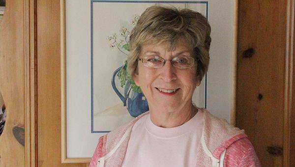 Lilah Aas has been volunteering for the hospice program in Albert Lea for 10 years. --Kelli Lageson/Albert Lea Tribune
