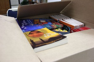 Students in need will bring home a book.