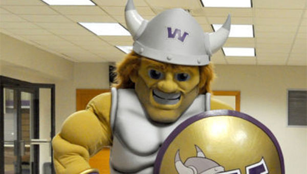 """Waldorf College has a new mascot. The name """"Warrick"""" was chosen for the mascot in a recently completed poll. --Submitted"""
