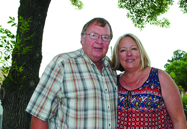 Teresa and Morris Blom. — Lacey Sawatzky/Faribault County Register