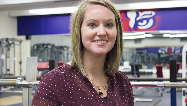 Afton Wacholz was hired as the new activities director at Albert Lea High School on Sept. 22. She formerly was an athletic trainer with Mayo Clinic Health System in Albert Lea. – Hannah Dillon/Albert Lea Tribune