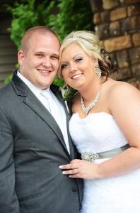 Ashley Bidne and Garrett Waller