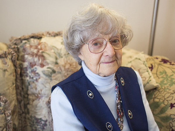 Anita Dittman came to the U.S. with her mother as refugees in 1946 after enduring 13 years of persecution under Adolf Hitler and his Nazi regime. — Colleen Harrison/Albert Lea Tribune