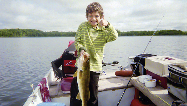 Adam Alcala, 9, of Albert Lea caught this 28-inch, nine-pound fish June 7 on a Bemidji area lake. Send your fish photos for a chance to be the Catch of the Week to tribsports@albertleatribune.com. Information should include the name and address of the angler, as well as the species, length, weight of the fish, the body of water where it was caught and the bait used. — Provided