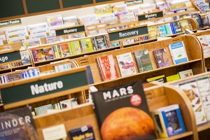 The Northbridge Mall Book World location will start having sales on regional books as its closing date approaches.  - Colleen Harrison/Albert Lea Tribune