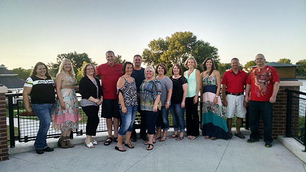 The Alden-Conger High School class of 1995 celebrated its 20th reunion on July 11 at 112 Broadway in Albert Lea.  The group looks forward to meeting again in five years. Those who attended were Dayna (Larson) Michaud, Mindy (Linn) Allsop, Danelle (Steele) Jacobs, Ben Purdy, Tricia (Dale) Linn, Nathan Deyle, Jamie (Besser) Holm, Lori (Newman) Krull, Lisa (Newman) Carda, Sara (Brummer) Woods, Amy (Lutteke) Davis, Jeremy Linn and Joe Jacobsen. -Provided