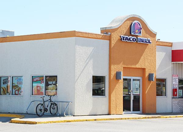 Albert Lea's Taco Bell, 122 Bridge Ave., will close its doors on Sept. 10. It has been open since 2000. - Sarah Stultz/Albert Lea  Tribune