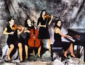 Salut Salon is a quarter that will perform this season as a part of Civic Music's array of scheduled acts. Others include The 5 Browns, Maniacal4 and International String Trio.