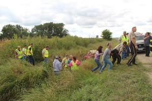 First responders and volunteers located a missing 96-year-old woman in a cornfield in southeastern Freeborn County north of her home in the small community of London. Sam Wilmes/Albert Lea Tribune