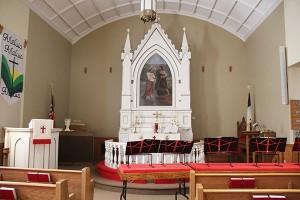Round Prairie Lutheran Church will have a special service, luncheon and program on Sunday to celebrate its 150th anniversary. - Sarah Stultz/Albert Lea Tribune