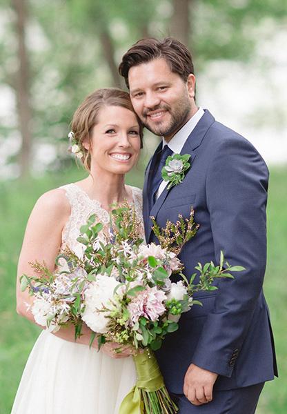Amy Marka and Grant Neitzell