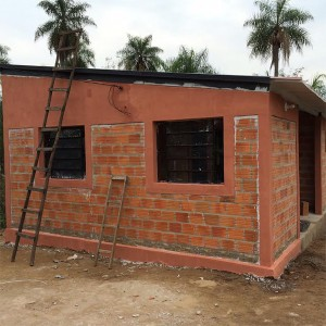 A new home nearly complete in Paraguay. -Provided