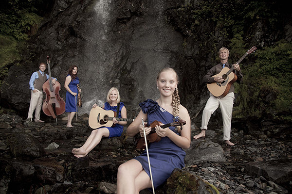 Quinn, Melissa, Laura, Abigail and Paul Zahasky will present the Southeast Alaska Odyssey concert at 3 p.m. Oct. 18 at United Methodist Church in Albert Lea. - Provided