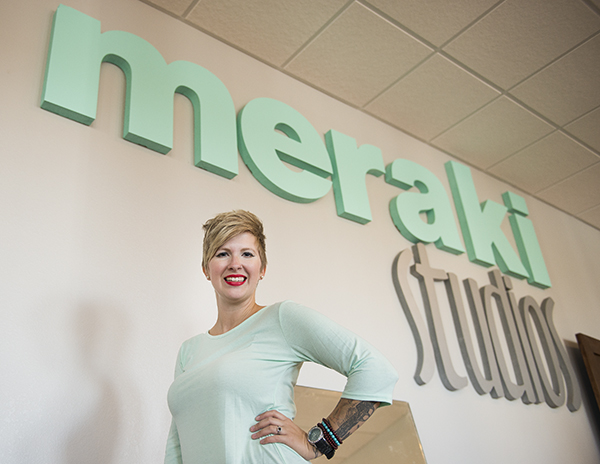 Meraki Studios will begin dance classes today. Holly Karsjens and her husband, Brian, own the building at 115 Newton Ave. that houses the studios, and Karsjens will be one of the dance instructors in the facility. - Colleen Harrison/Albert Lea Tribune