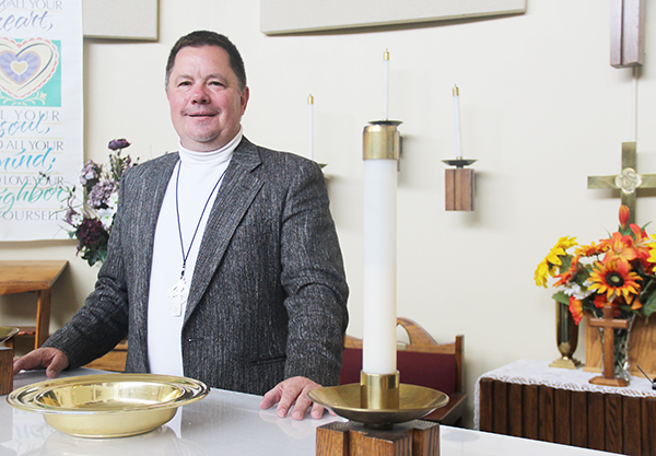 Don Malinsky began as the chaplain at St. John's Lutheran Community in July. He previously served church congregations in Glenville, Preston, Wykoff and Buffalo Lake.  - Sarah Stultz/Albert Lea Tribune