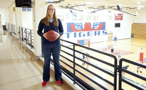 Gina Klennert, Albert Lea's new girls' basketball coach, takes over a program that was 3-24 last season and hasn't had a winning season since 2006-07. - Micah Bader/Albert Lea Tribune
