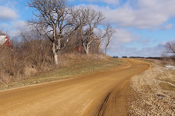 Albert Lea officials are considering putting in a shared-user trail on Sunset Street starting near Minnesota Highway 13. - Kelly Wassenberg/Albert Lea Tribune