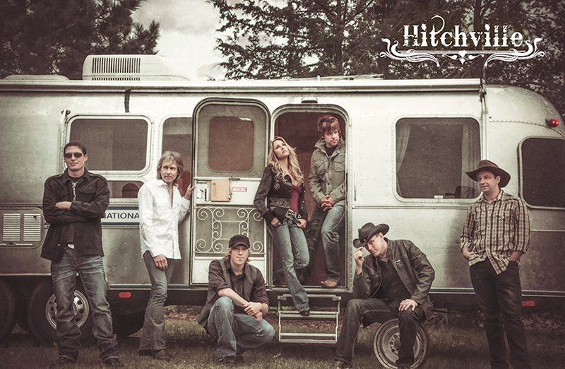 Hitchville, a seven-member country band out of Minneapolis, was one of the bands to perform at Borderfest in Emmons in 2015. -Provided