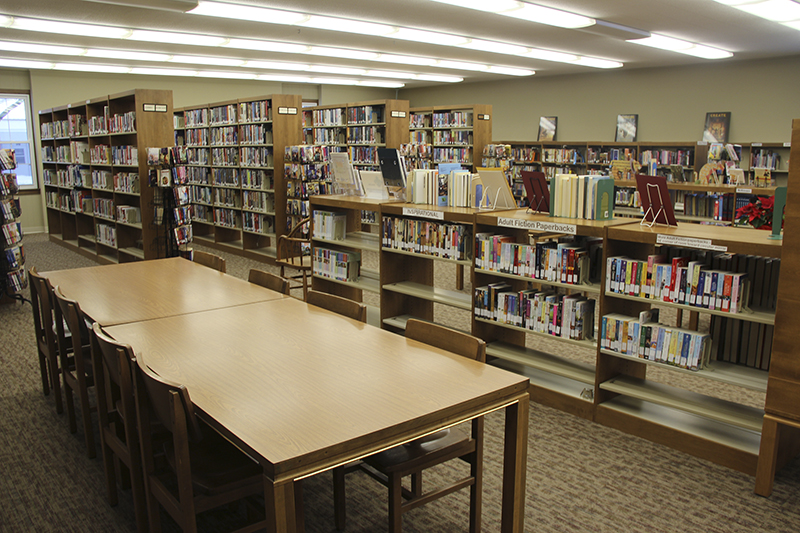 Northwood Public Library has a circulation of about 23,000. - Sarah Stultz/Albert Lea Tribune
