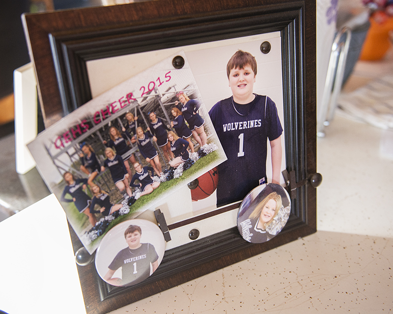 Photography has been a hobby of Attig's since she was a child, and she takes portraits for a number of the sports teams within the Glenville-Emmons school district. - Colleen Harrison/Albert Lea Tribune
