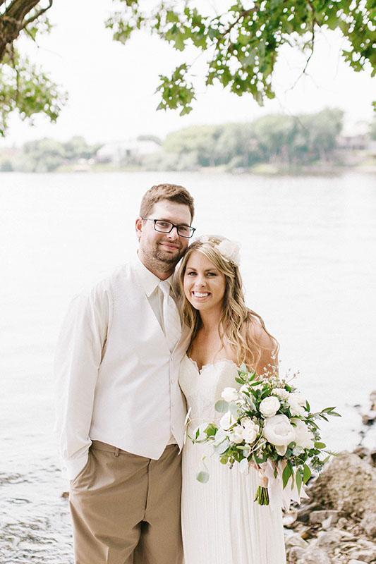 Katelyn Anderson and Brady Flatness