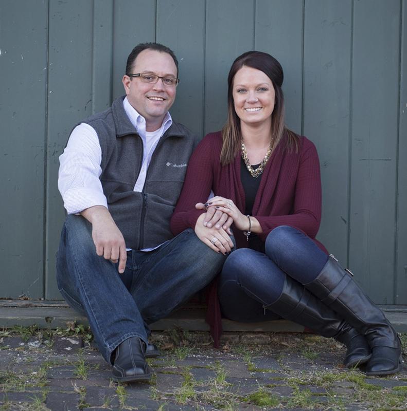 Cori Madsen and Jason Boxrud