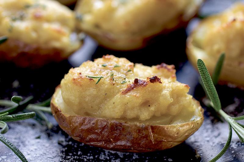 Twice Baked Potato Jackets