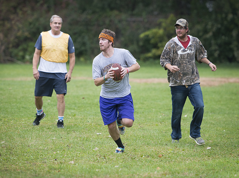 The 51st Turkey Bowl will take place Thursday on Thanksgiving at lower Abbott Field on Fountain Street in Albert Lea. - Colleen Harrison/Albert Lea Tribune