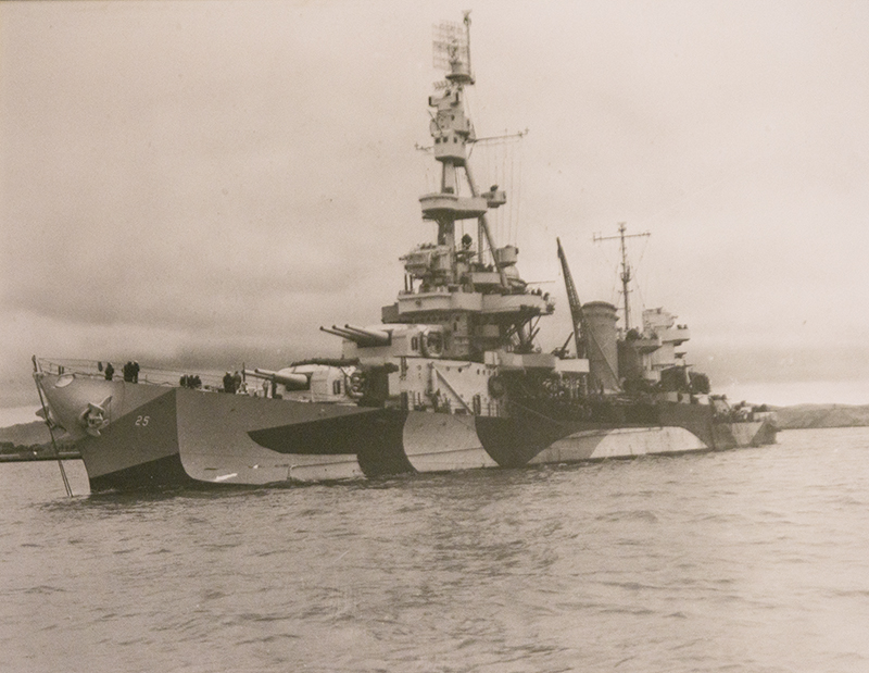 Richard Thunstedt spent over two years on the USS Salt Lake City during his time in the U.S. Navy. - Provided