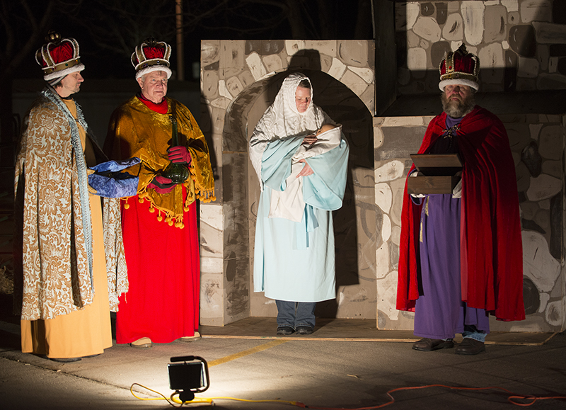 The annual drive-thru live Nativity at New Life Christian Church will be on Friday and Saturday at the church. - Colleen Harrison/Albert Lea Tribune