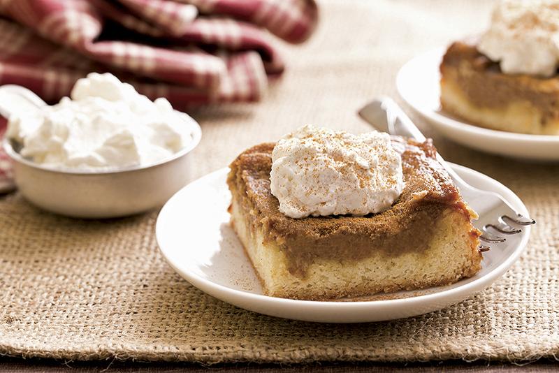 Apple Butter Gooey Butter Cake. - Provided