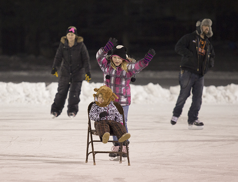 Rock on Ice is free to the public, though people who attend should bring their own skates. - Colleen Harrison/Albert Lea Tribune