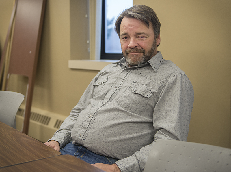 Jon Ford, executive director of the Albert Lea Housing and Redevelopment Authority, is leading the efforts for the downtown renovations through a Small Cities Development Program. - Colleen Harrison/Albert Lea Tribune