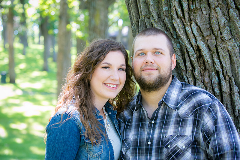 Jessica Sosebee and Aaron Rame