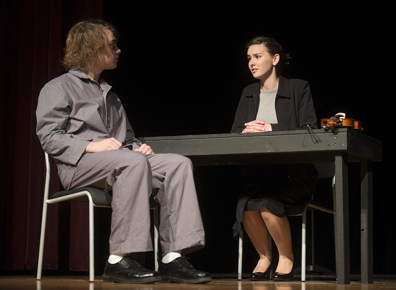 Albert Lea High School students will compete against Waseca, Winona, Rochester Mayo and Kasson-Mantorville in today's one act play 1AA sub-section contest. Colleen Harrison/Albert Lea Tribune