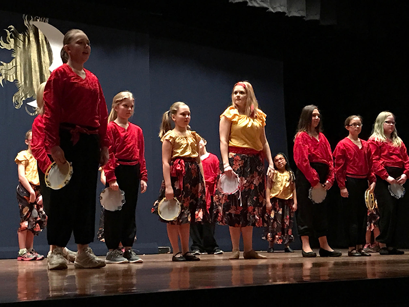 Prairie Fire Children's Theatre directed the play.