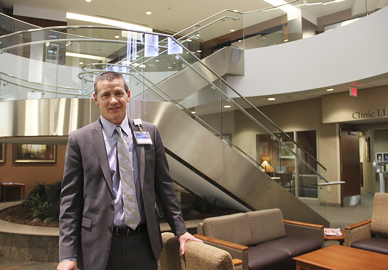Mark Ciota became CEO of Mayo Clinic Health System in Albert Lea and Austin in 2012. - Sarah Stultz/Albert Lea Tribune