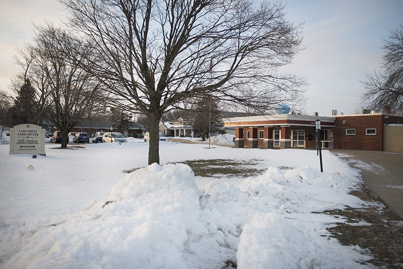 Lake Mills Care Center is a nursing home at 406 S. 10th Ave. E in Lake Mills. Colleen Harrison/Albert Lea Tribune